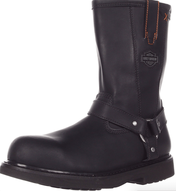 Harley Davidson Men's Bill Steel Toe Harness Boot