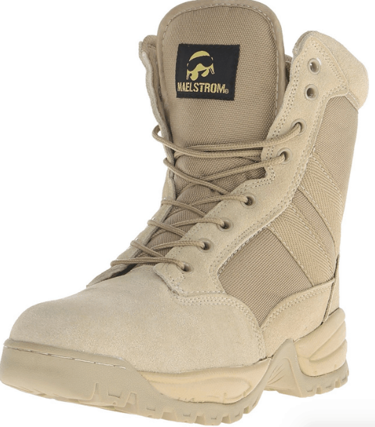 Maelstrom Men's TAC Force 8 Inch Waterproof Military Tactical Duty Work Boot