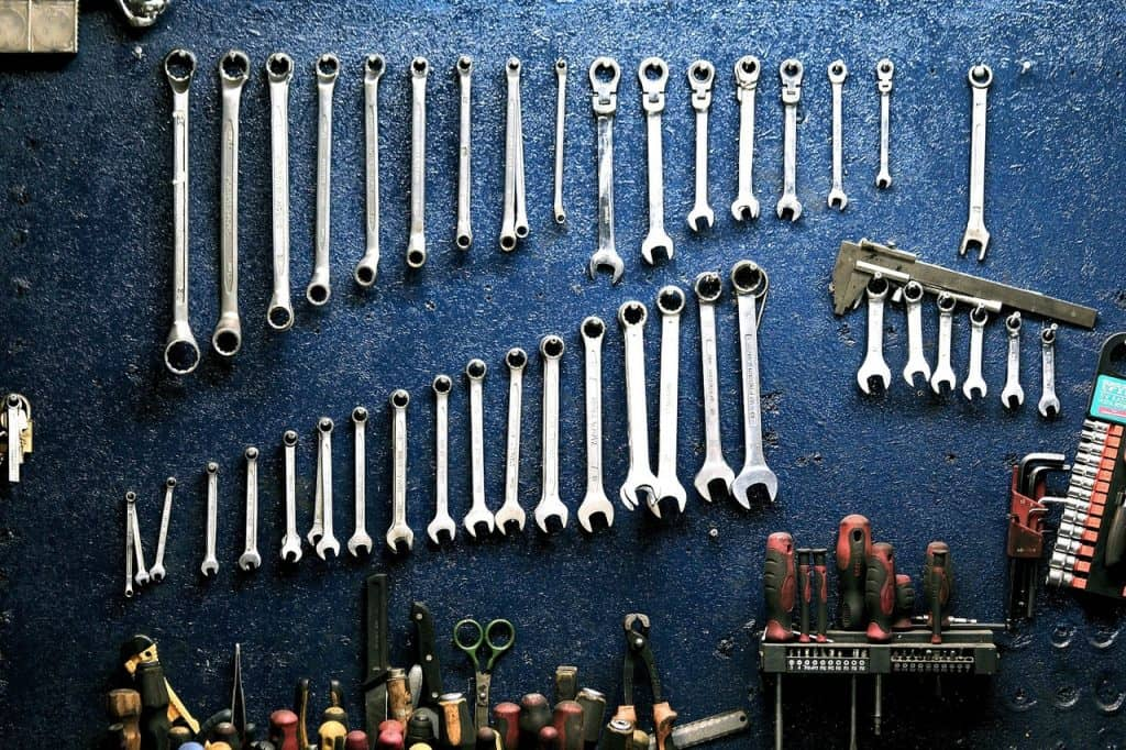 you'll learn to use many tools while training to be a motorcycle technician